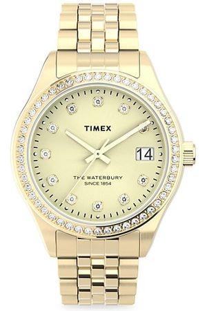 Timex Waterbury Legacy with Swarovski® Crystals Stainless Steel Bracelet Watch