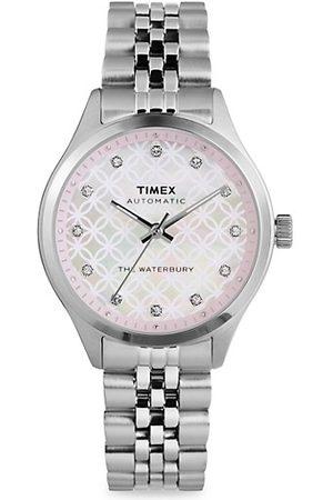 Timex Waterbury Traditional Automatic Stainless Steel Bracelet Watch