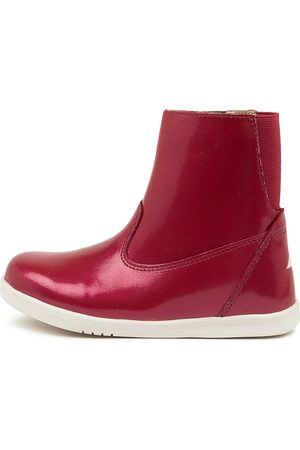 Bobux Paddington Waterproof J Cherry Boots Girls Shoes Casual Ankle Boots