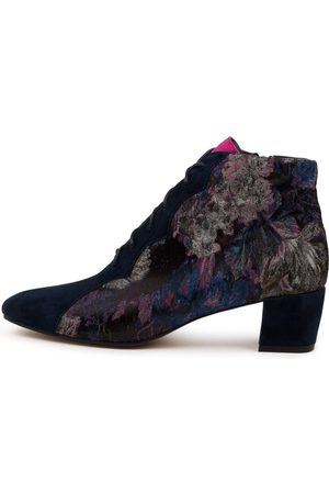 Django & Juliette Women Ankle Boots - Harlany Dj Navy Fuchsia Boots Womens Shoes Casual Ankle Boots