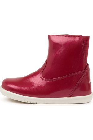 Bobux Paddington Waterproof T Cherry Boots Girls Shoes Casual Ankle Boots