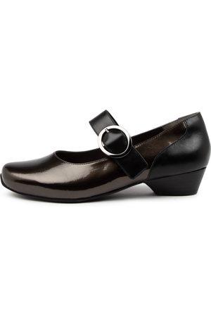 Ziera Women Heels - Candy Xw Zr Slate Shoes Womens Shoes Casual Heeled Shoes
