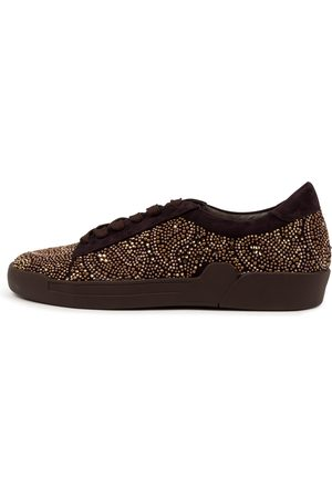 Django & Juliette Women Casual Shoes - Minuet Dj Choc Sneakers Womens Shoes Casual Casual Sneakers