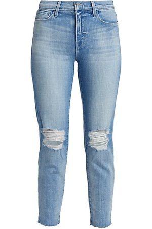 L'Agence Women Slim - El Matador Slim-Fit Distressed Jeans