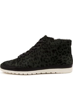 Diana Ferrari Women Ankle Boots - Alyse Df Forest Leopard Boots Womens Shoes Casual Ankle Boots