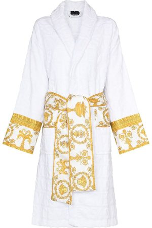 Versace Women Bathrobes - Barocco-print bath robe