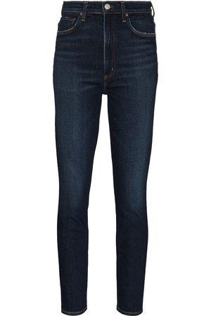 AGOLDE Women Boyfriend - High-rise skinny jeans