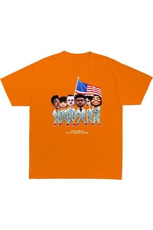 Brockhampton Men Short Sleeve - All-American Caricature T-Shirt