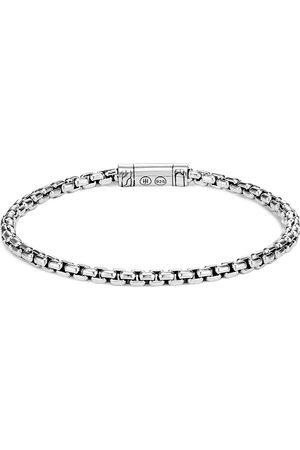 John Hardy Men Cufflinks - Classic Chain' silver box chain bracelet