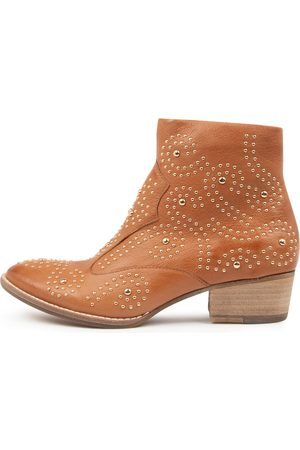 Django & Juliette Women Ankle Boots - Lyla Dj Dk Tan Boots Womens Shoes Casual Ankle Boots