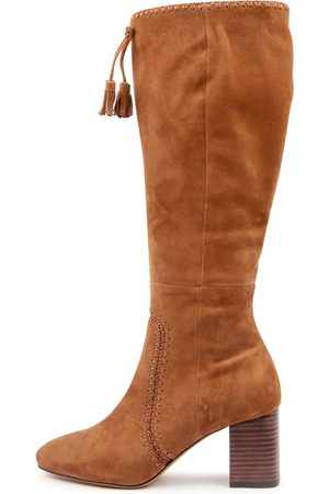 Mollini Salome Walnut Boots Womens Shoes Casual Long Boots