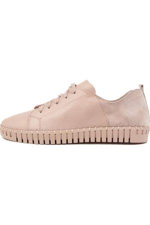 DJANGO & JULIETTE Women Casual Shoes - Luxit Dj Warm Rose Dusty Sneakers Womens Shoes Casual Casual Sneakers