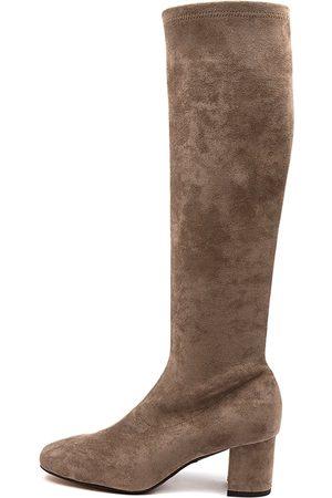 Diana Ferrari Irossi Df Mocca Boots Womens Shoes Casual Long Boots