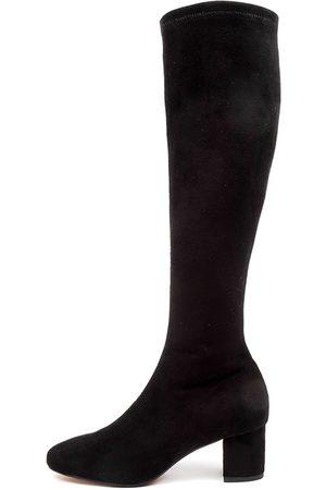 DIANA FERRARI Women Knee High Boots - Irossi Df Boots Womens Shoes Casual Long Boots
