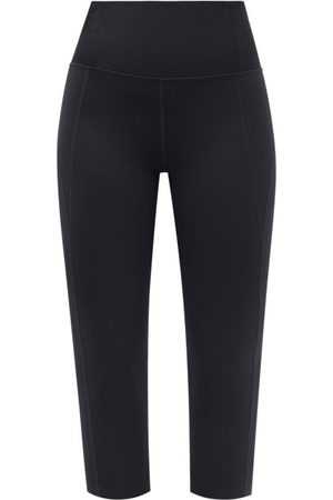 GIRLFRIEND COLLECTIVE Women Sports Leggings - High-rise Compression Cropped Leggings - Womens