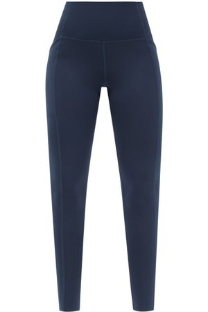 GIRLFRIEND COLLECTIVE High-rise Pocketed Leggings - Womens - Navy