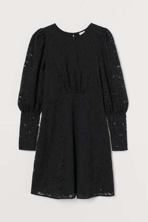 H&M Puff Sleeve Lace Dress