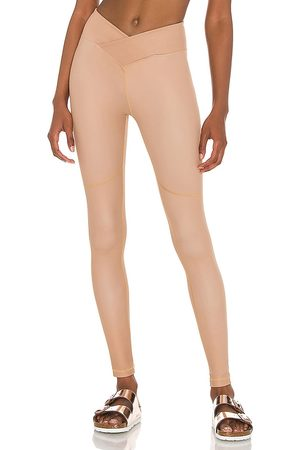 Nubyen Women Sports Leggings - Surplice Front Legging in .