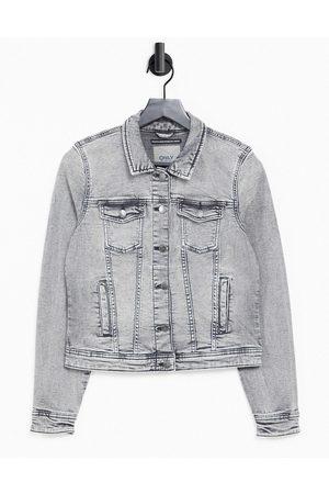 ONLY Denim jacket in grey denim