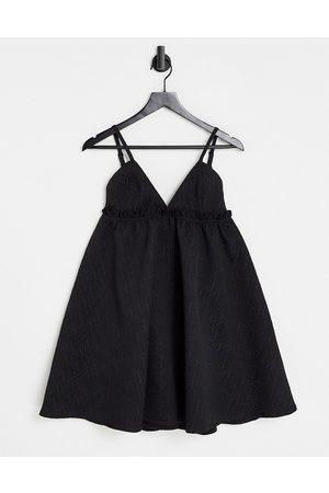 Rare Fashion London babydoll dress in black