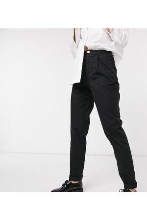 ASOS ASOS DESIGN Tall hourglass chino pants in black
