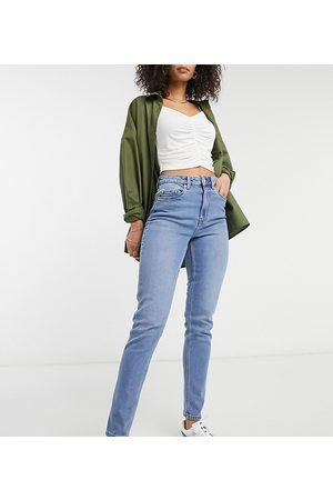 Vero Moda Joana mom jeans in light blue