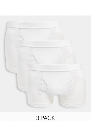 Weekday Johnny 3-pack trunks in white