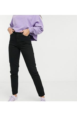 Dr Denim Nora high rise mom jeans in black