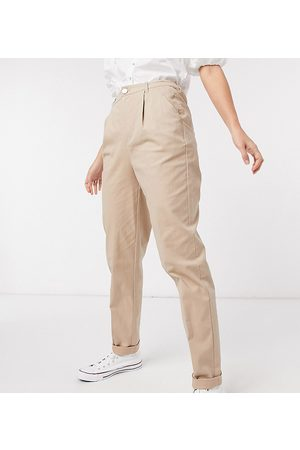 ASOS ASOS DESIGN Tall hourglass chino pants in stone