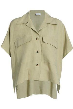 ROSETTA GETTY Patch Pocket Caftan Shirt