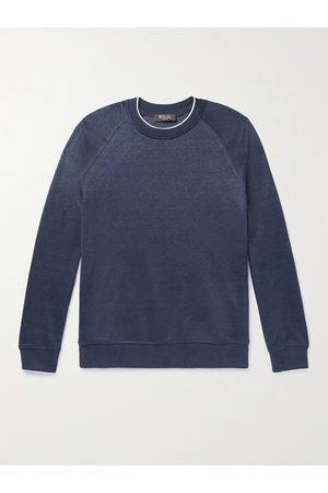 Loro Piana Drysdale Linen-Blend Jersey Sweatshirt