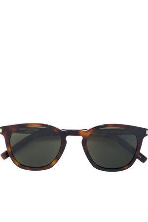 Saint Laurent D-frame tortoiseshell sunglasses