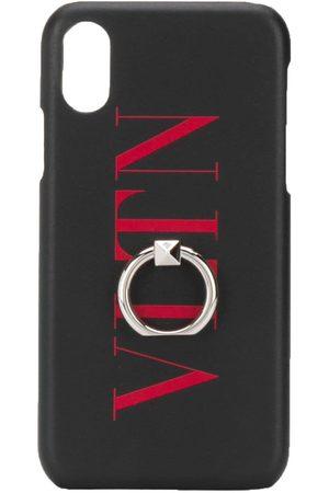 VALENTINO GARAVANI Men Phone Cases - VLTN print iPhone XS Max case