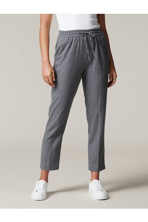Forever New Clarissa Pinstripe Jogger Pants