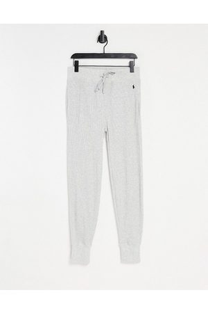 Polo Ralph Lauren Waffle trackies in grey with logo