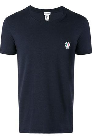 Dolce & Gabbana Men Short Sleeve - Logo crest T-shirt