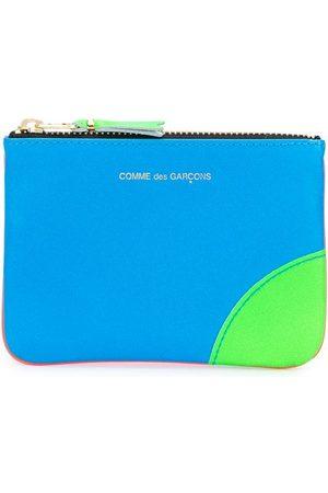 Comme Des Garçons Wallet Purses - Colour block coin purse