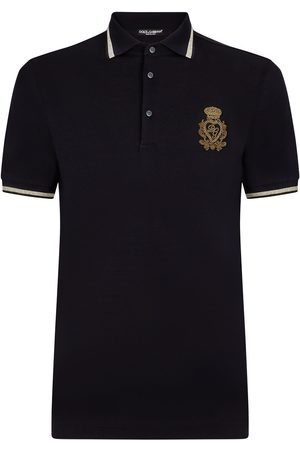 Dolce & Gabbana DG logo-patch polo shirt