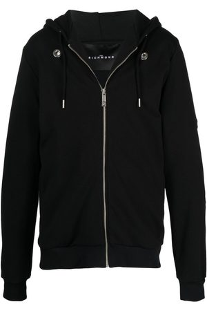 John Richmond Men Hoodies - Narcissa cotton-jersey hoodie