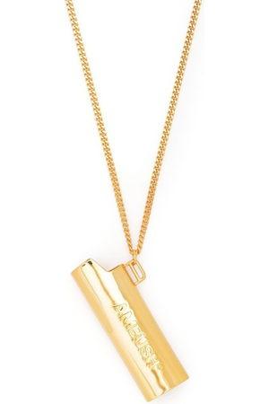 AMBUSH Logo-embossed lighter necklace