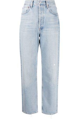 AGOLDE Straight-leg denim jeans