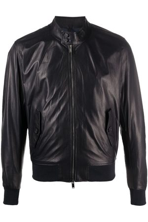 TAGLIATORE Zip-up leather jacket
