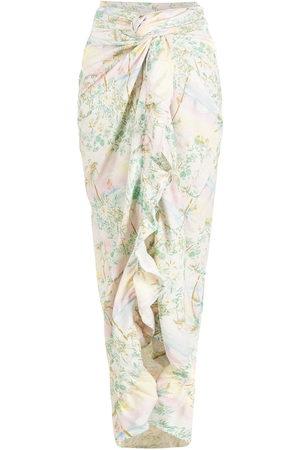 Brigitte Women Kimonos - Print Pôr do Sol long cover-up