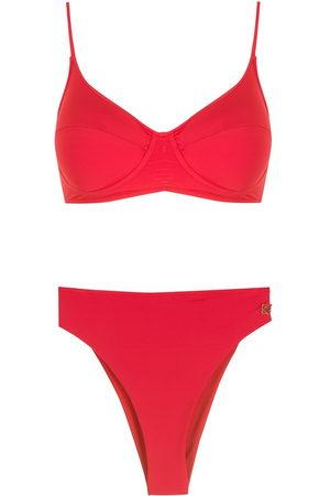 Brigitte High-leg bikini set