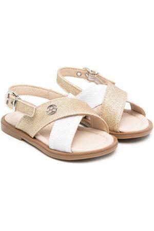 Florens Glitter crisscross sandals