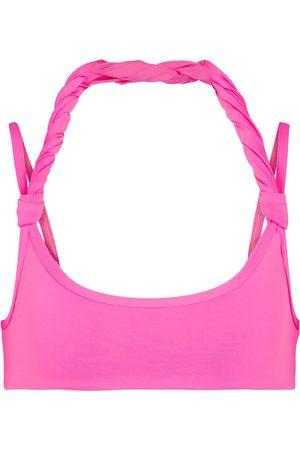 The Attico Halterneck bikini top
