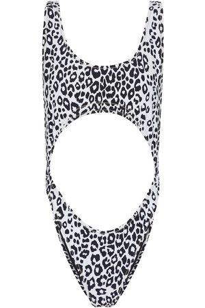 Reina Olga Exclusive to Mytheresa – Marina leopard-print swimsuit
