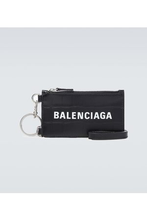 Balenciaga Cash card case on keyring