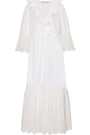 Self-Portrait Cotton broderie anglaise dress