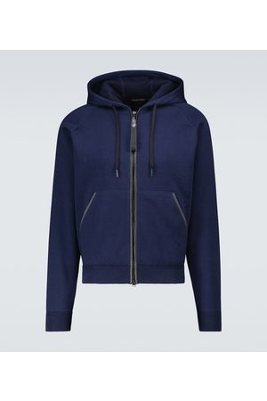 Tom Ford Double-faced hooded sweatshirt